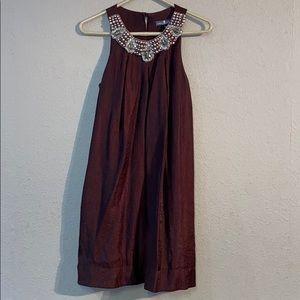 Brown Alexia Admor Size S Midi Dress